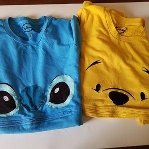 DISNEY'S Pooh Bear and Stitch Sleep Gowns